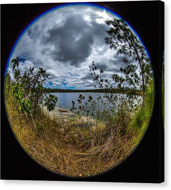 Pine Glades Lake 18 Canvas Print