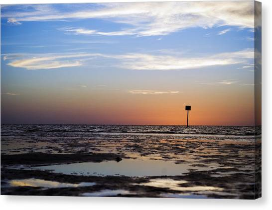 Pine Island Sunset Canvas Print