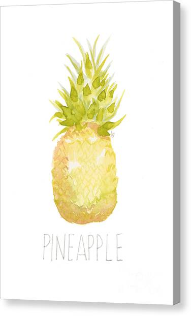 Pineapples Canvas Print - Pineapple by Cindy Garber Iverson