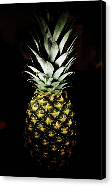 Pineapple In Shine Canvas Print