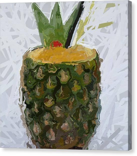 Canvas Print - Pineapple Pina Colada by Modern Art