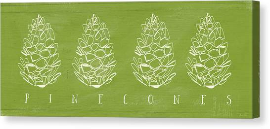 Thanksgiving Canvas Print - Pinecones-art By Linda Woods by Linda Woods