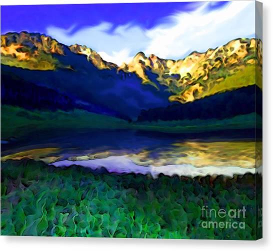 Piney Mountain Canvas Print