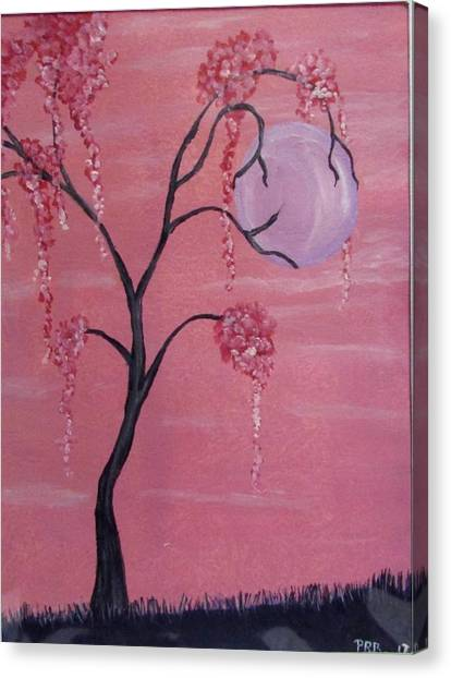 Canvas Print - Pink Dream  by Pamula Reeves-Barker