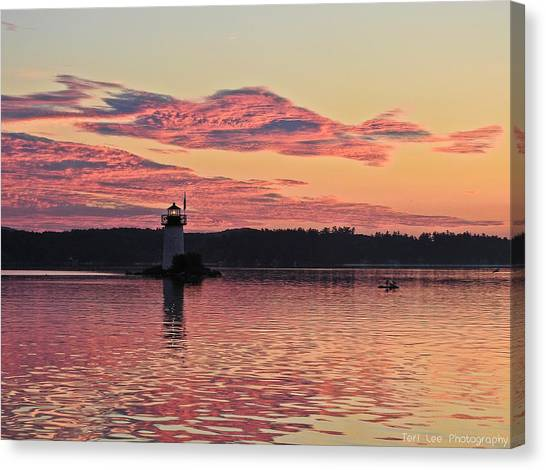 Pink Fire Canvas Print