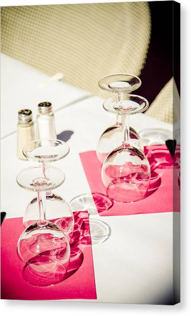 Canvas Print featuring the photograph Pink by Jason Smith