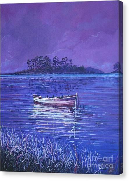 Pink Marsh Canvas Print