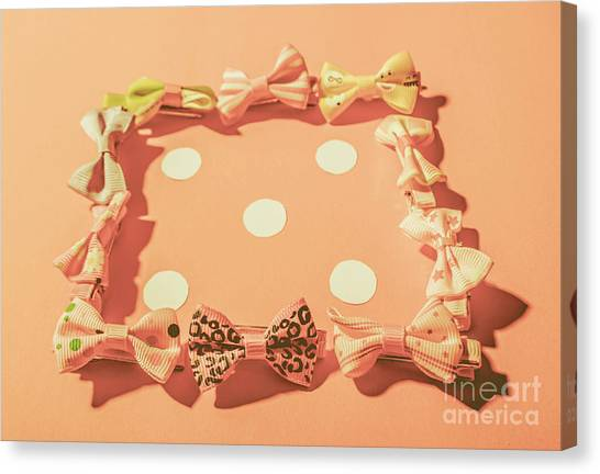 Knot Canvas Print - Pink Pastel Fashion Celebration by Jorgo Photography - Wall Art Gallery