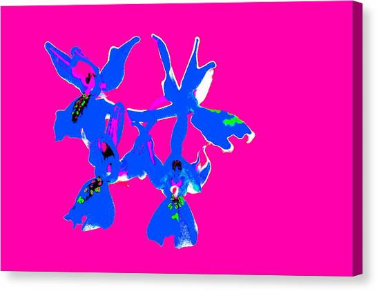Pink Provence Orchid Canvas Print