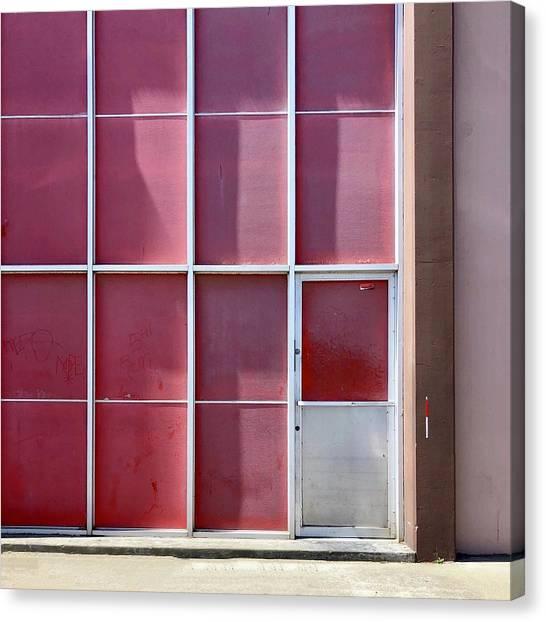 Canvas Print - Pink Squares by Julie Gebhardt