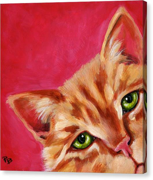 Pink With Attitude Canvas Print by Pat Burns