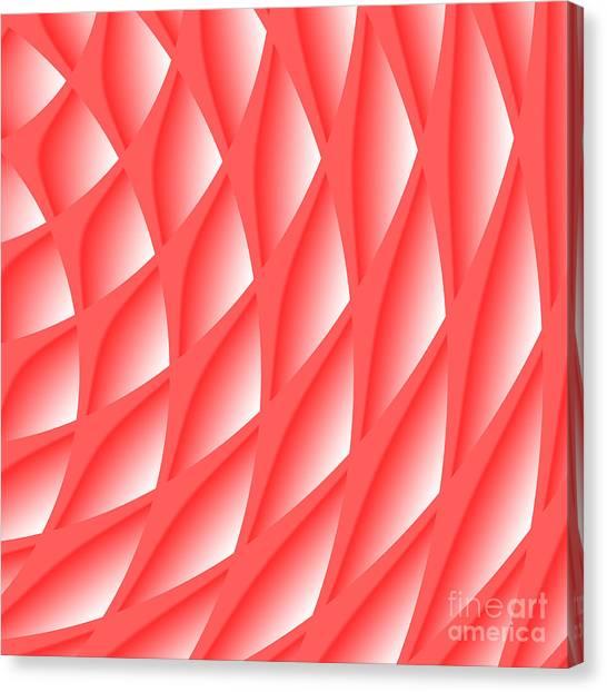 Pinked Canvas Print