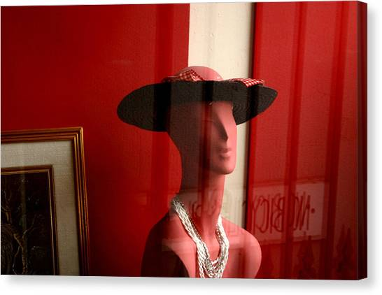 Pinky Waiting Canvas Print by Jez C Self