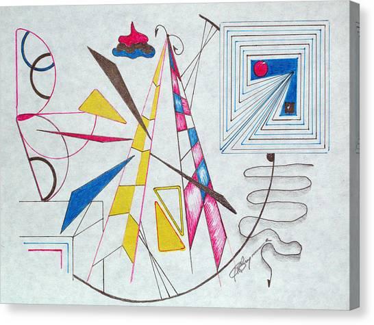 Pinnacle Of Time Canvas Print