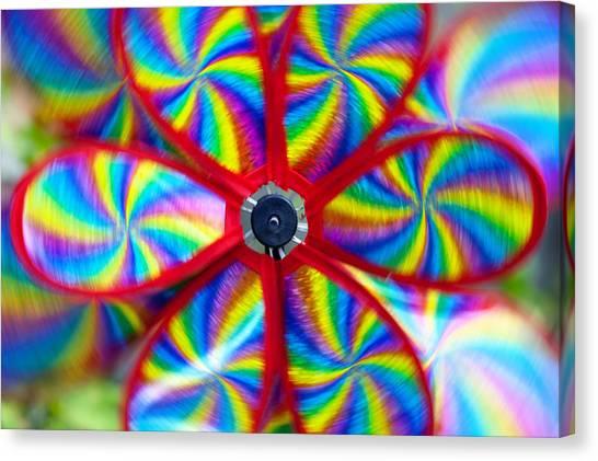 Veer Canvas Print - Pinwheel by Michal Boubin