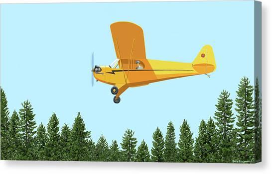 Piper Cub Piper J3 Canvas Print