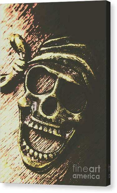 Bones Canvas Print - Pirate Metal by Jorgo Photography - Wall Art Gallery
