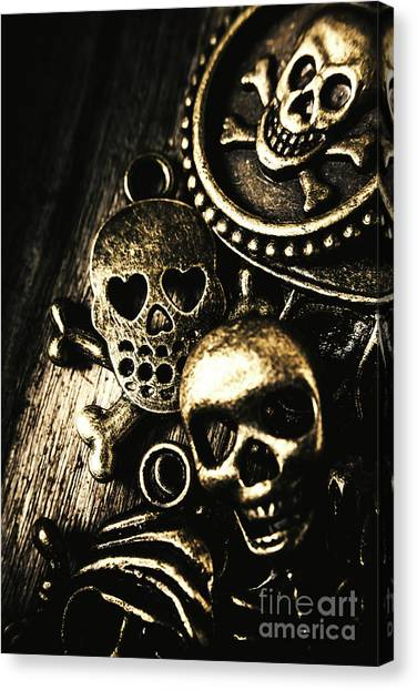 Death Canvas Print - Pirate Treasure by Jorgo Photography - Wall Art Gallery