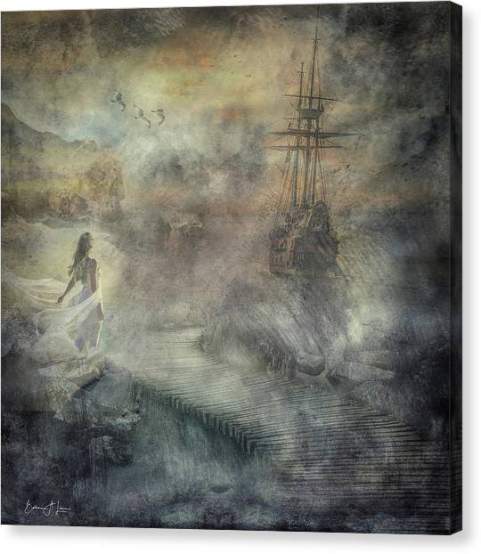 Pirates Cove Canvas Print