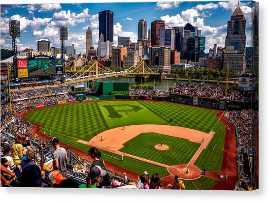 Pittsburgh Pirates Canvas Print - Pirates Day Game by Pixabay