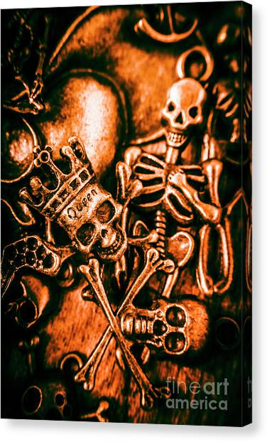 Death Canvas Print - Pirates Treasure Box by Jorgo Photography - Wall Art Gallery