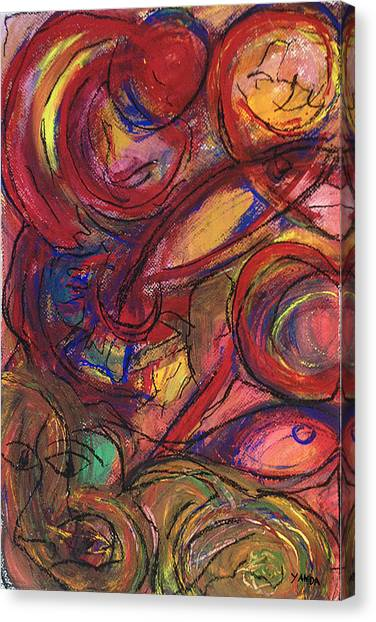 Pisces Symbalic Canvas Print