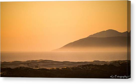 Pismo Sunrise Canvas Print