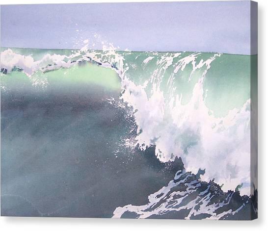 Pismo Wave Number Eight Canvas Print by Philip Fleischer