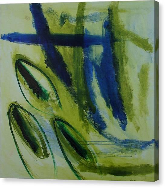 Canvas Print - Pistachio Nut by Maggie Hernandez