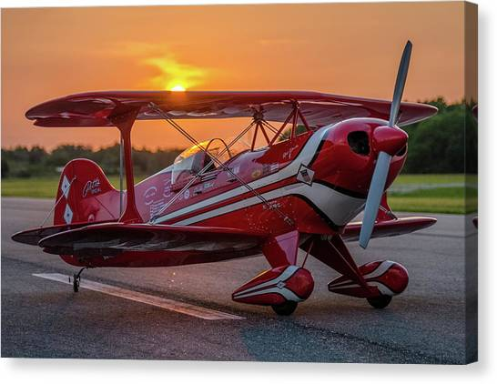 Pitts Sunset Canvas Print