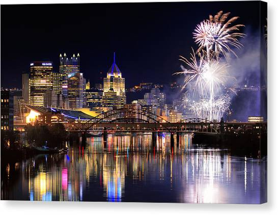 Pittsburgh Pirates Canvas Print - Pittsburgh 1  by Emmanuel Panagiotakis