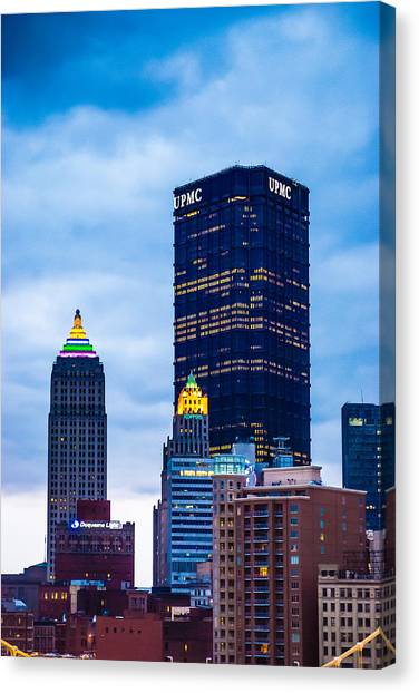 Pittsburgh - 7012 Canvas Print
