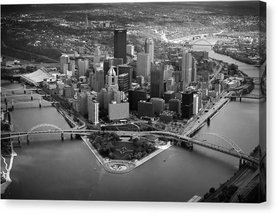 Pittsburgh 8 Canvas Print