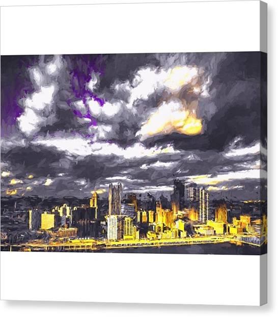 Pennsylvania Canvas Print - #pittsburgh #pennsylvania by David Haskett II