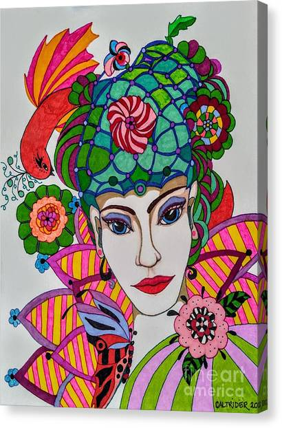 Pixie Girl Canvas Print