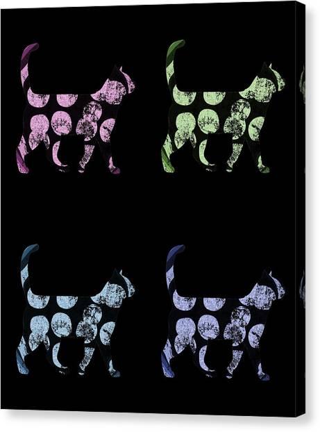 Ocicats Canvas Print - Pizza Cat Pop by Kaylin Watchorn