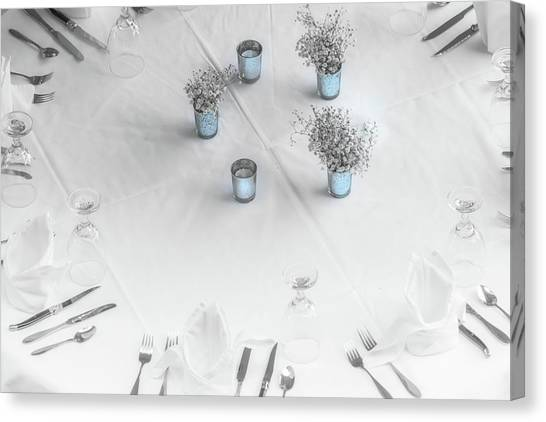 Place Settings Canvas Print