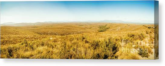 Wide Canvas Print - Plain Plains by Jorgo Photography - Wall Art Gallery