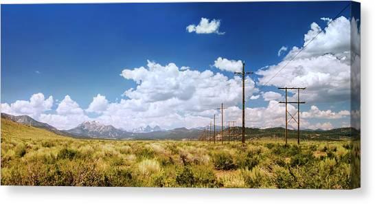 Plains Of The Sierras Canvas Print