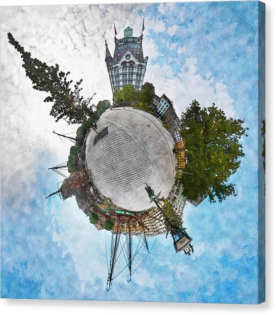 Planet Gelderseplein Rotterdam Canvas Print