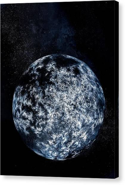 Planet Near A-type Star Canvas Print