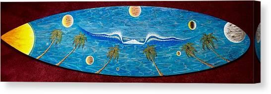 Planet Surf  Canvas Print