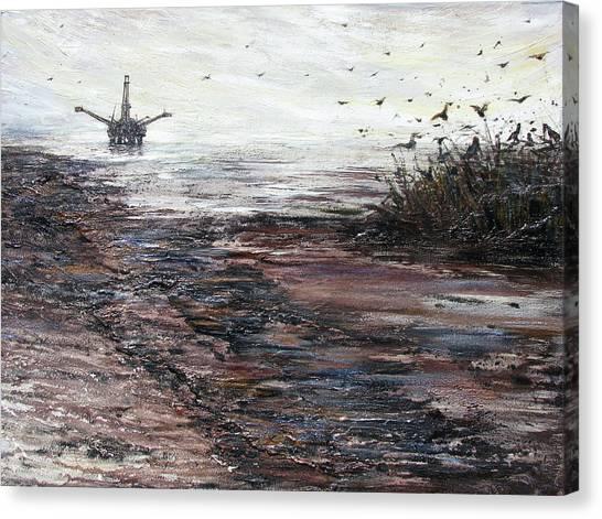 Platform Canvas Print by Judy Merrell