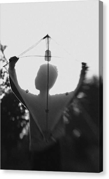 Shadows Canvas Print - Play A Kite #2 by Jay Satriani