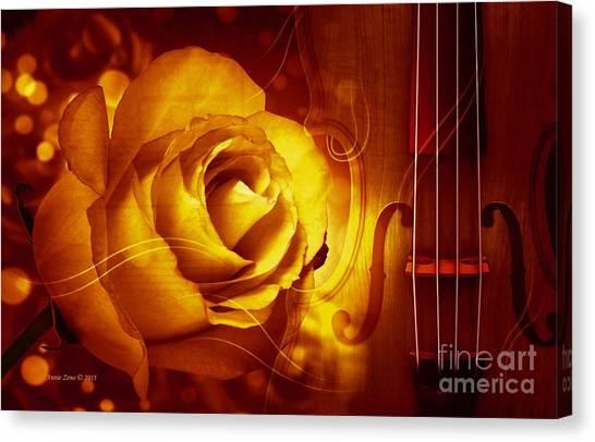 Play A Love Song Canvas Print