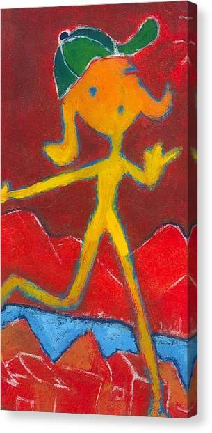 Play Girl Canvas Print by Ricky Sencion
