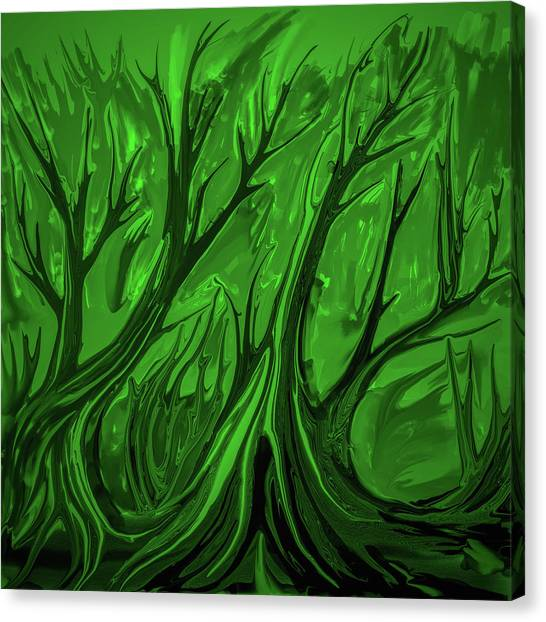 Play Green #h6 Canvas Print