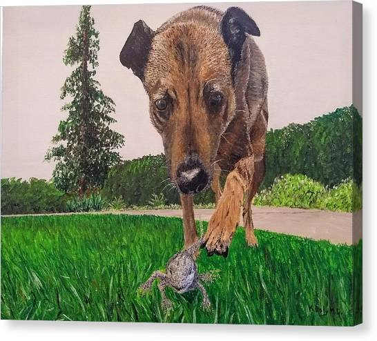 Play With Me Canvas Print