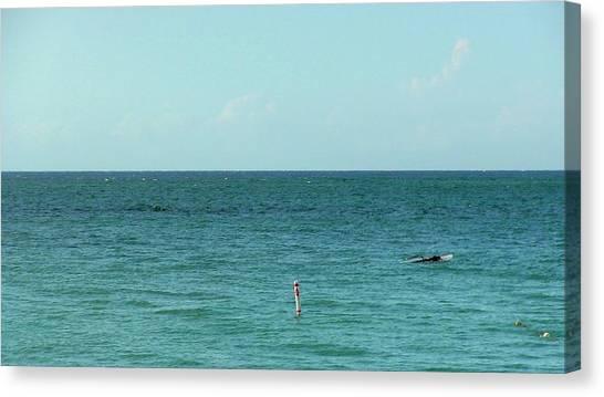 Playa Punta Las Marias Canvas Print