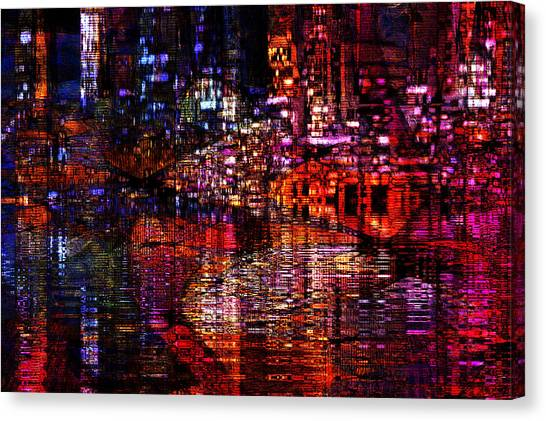 Playful Evening Canvas Print